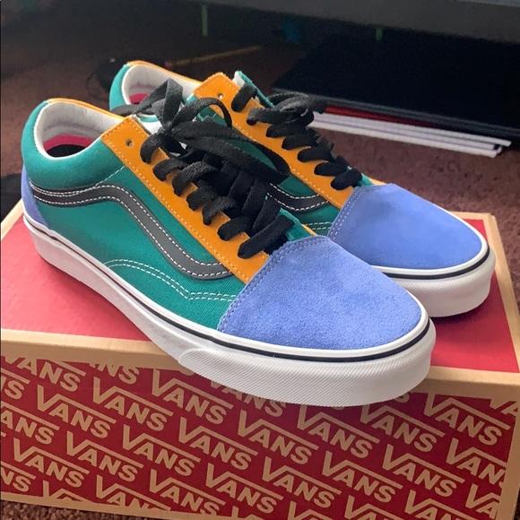 Vans Shoes | Multicolor Vans | Poshmark